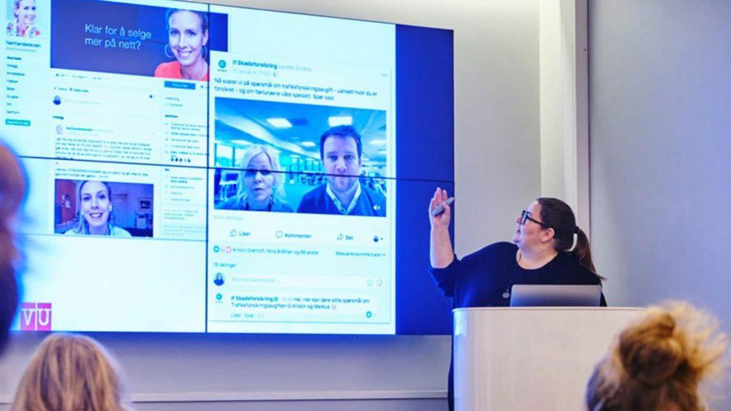 sosiale medier strategi